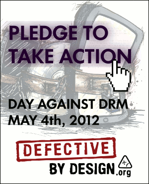 Action against DRM